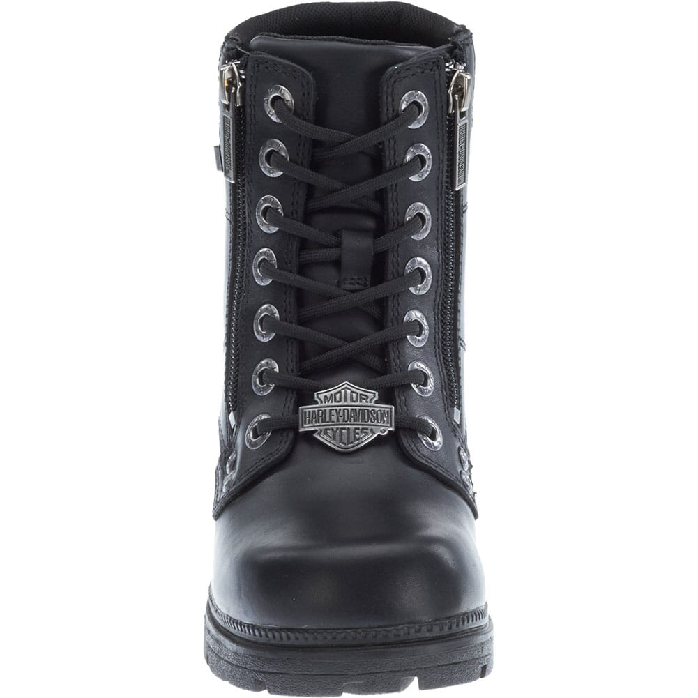 Harley Davidson Women's Inman Mills Motorcycle Boots - Black
