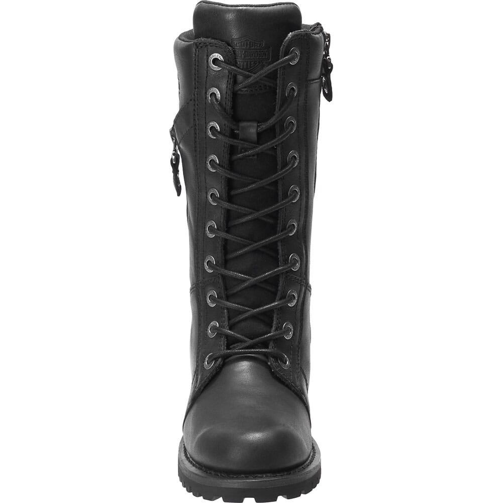 Harley Davidson Women's Harnett Zip Motorcycle Boots - Black