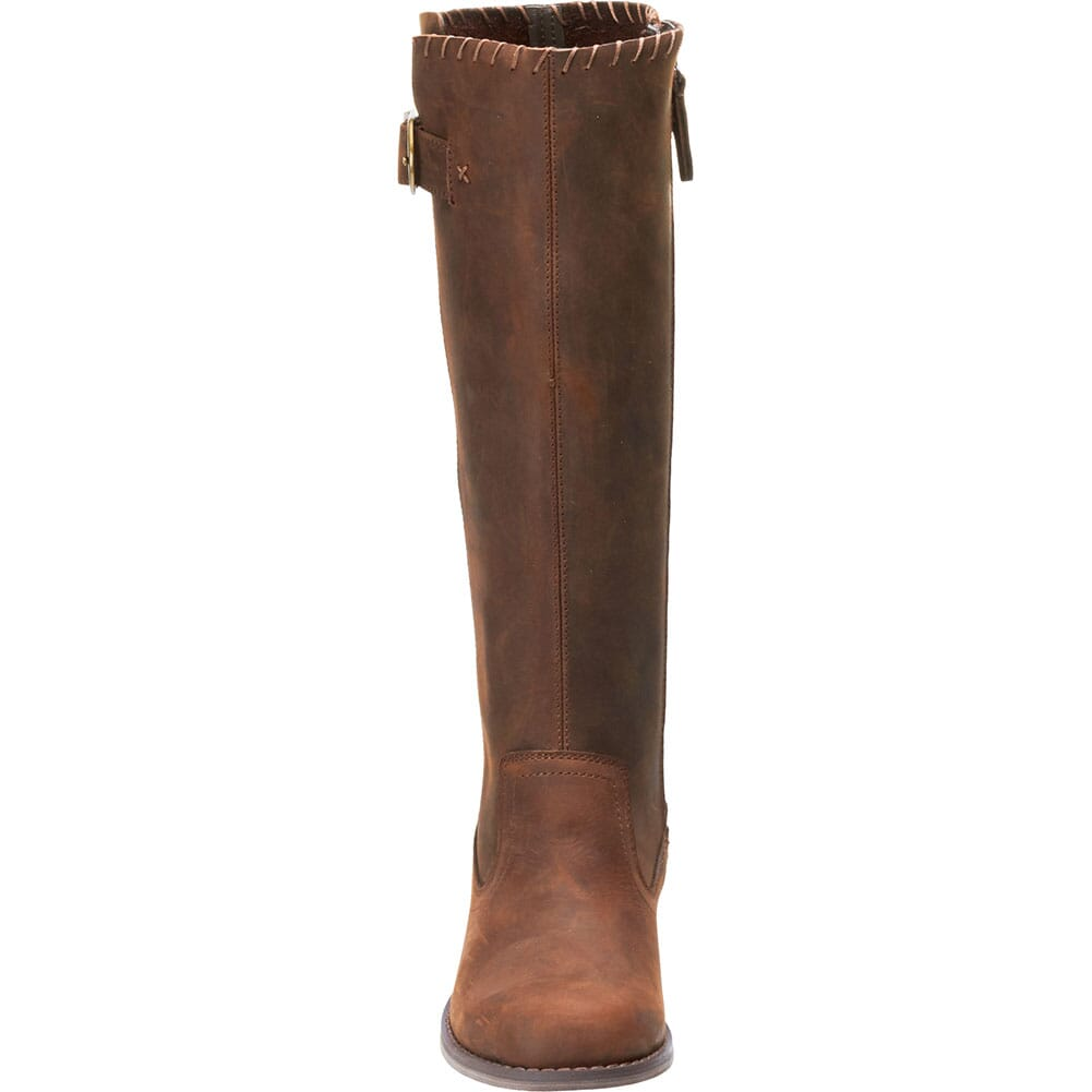 Harley Davidson Women's Keyser Motorcycle Boots - Chocolate