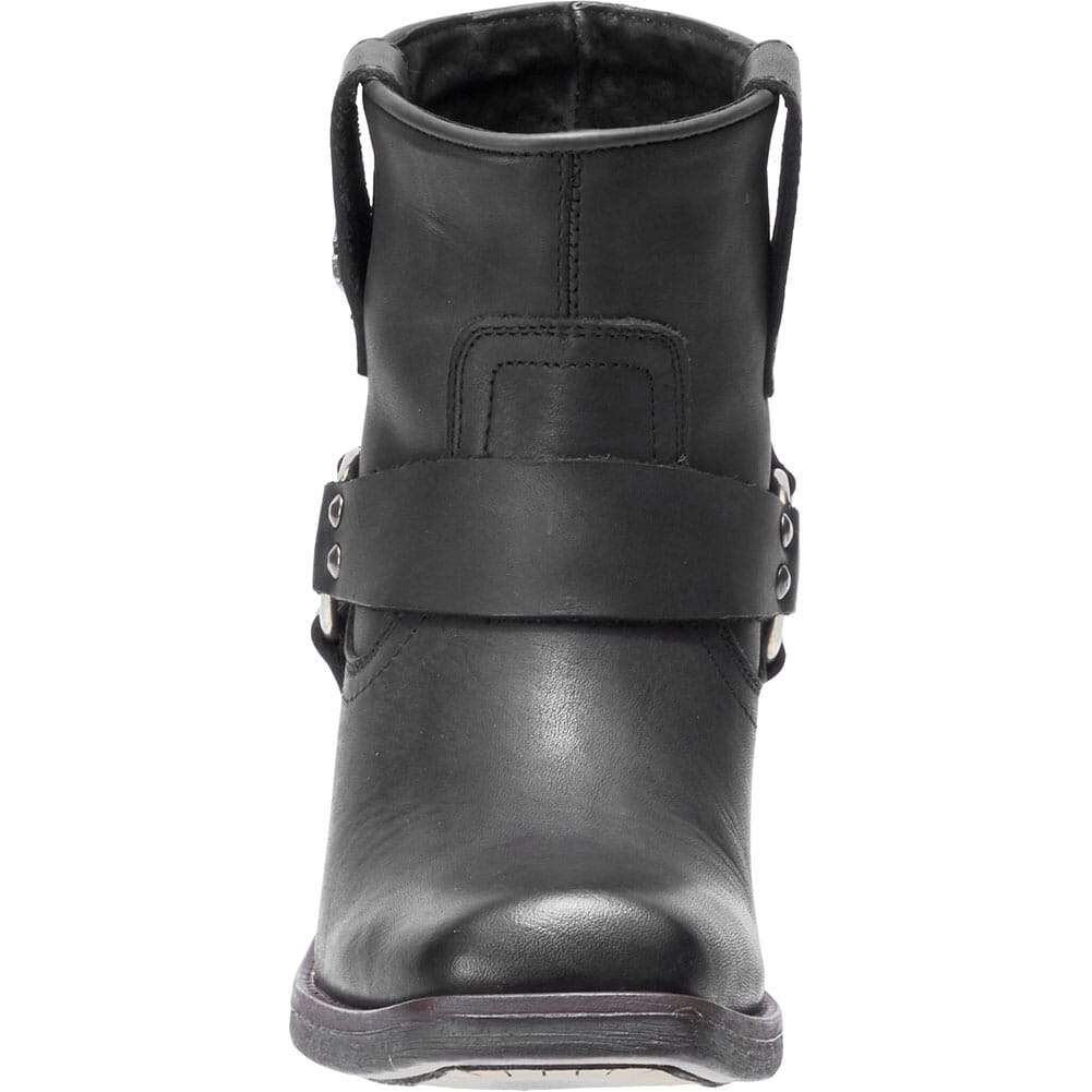 Harley Davidson Women's Abbington Motorcycle Boots - Black