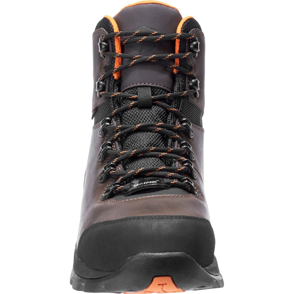 Harley Davidson Men's Benham CT Safety Boots - Brown