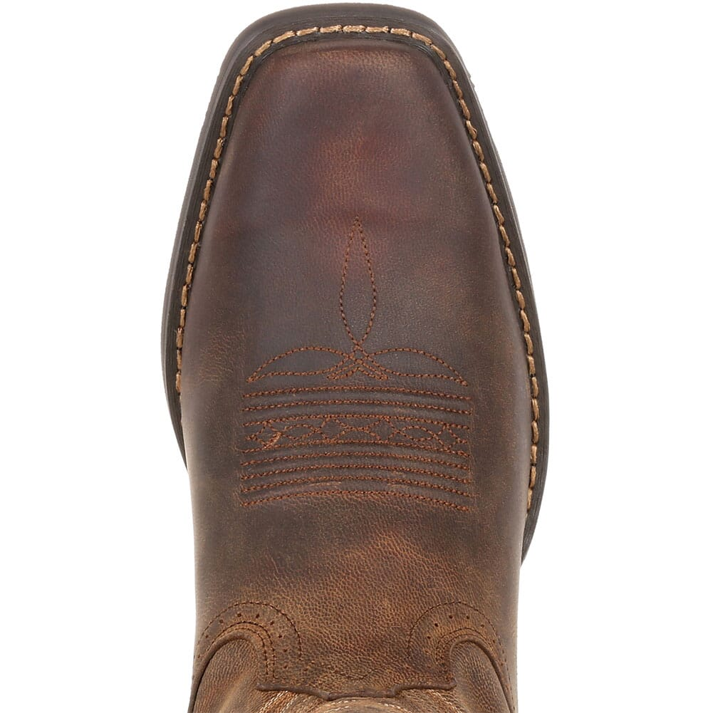 DDB0244 Durango Men's Rebel Frontier Western Boots - Distressed Sunset Brown