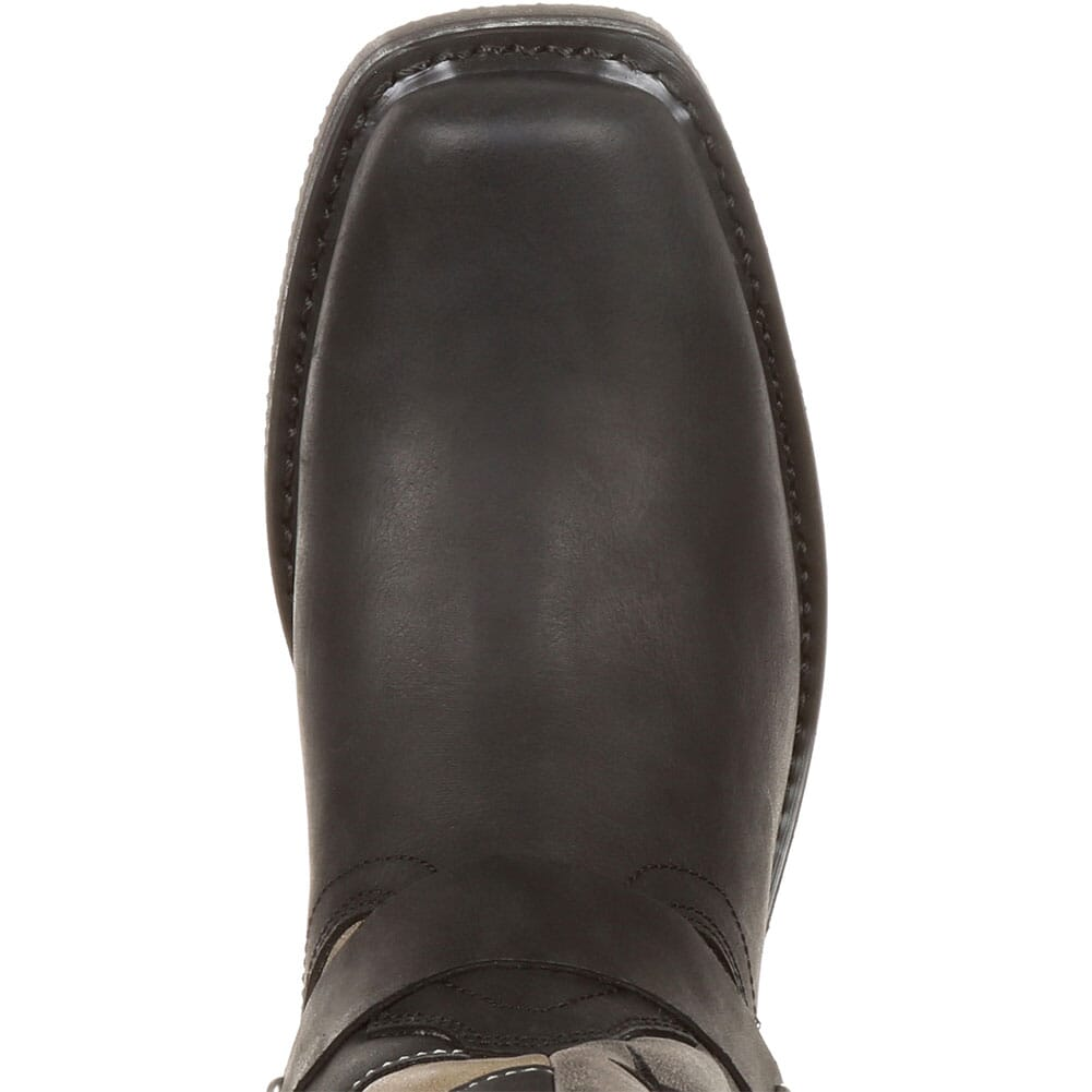 Durango Women's Faded Flag Western Boots - Black/Charcoal Grey