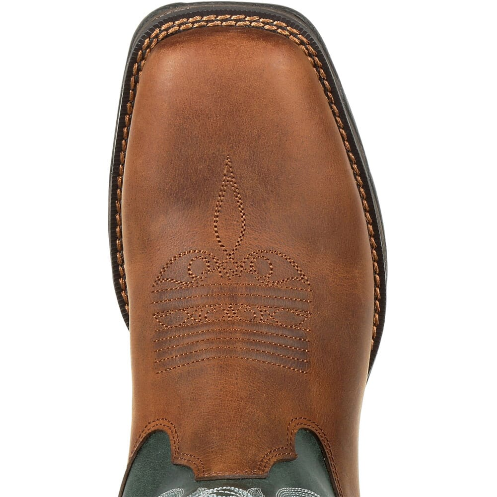 DRD0312 Durango Women's Lady Rebel WP Western Boots - Brown Evergreen