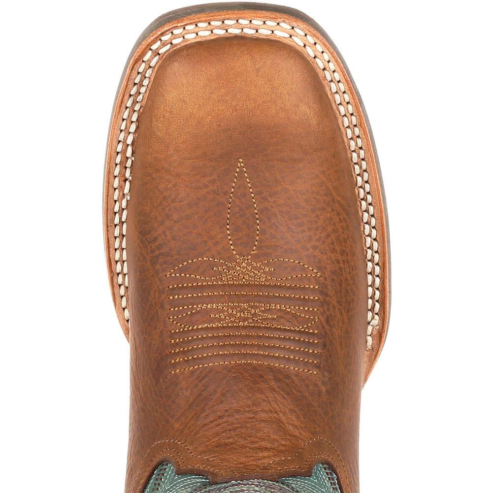 DRD0353 Durango Women's Lady Rebel Pro Western Boots - Wheat/Tidal Teal