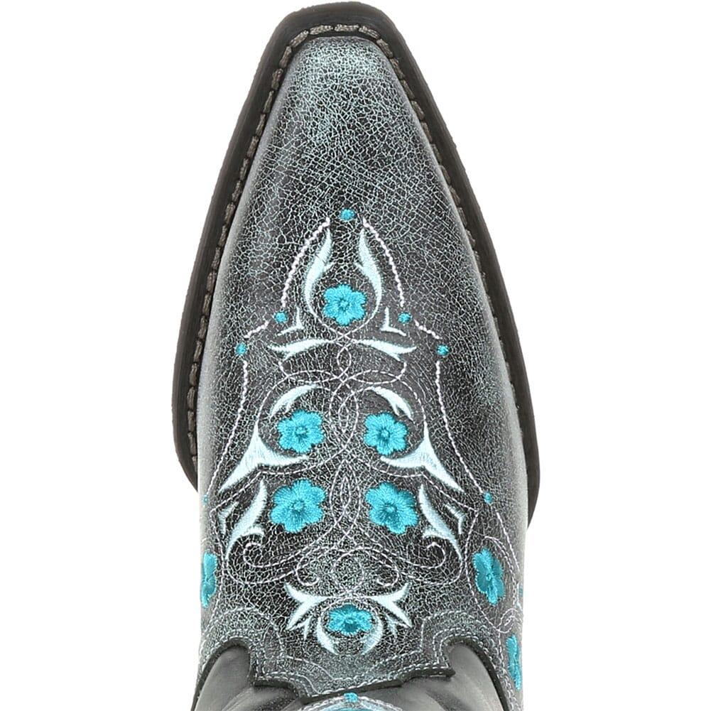 DRD0363 Durango Women's Crush Floral Western Boots - Blue Slate