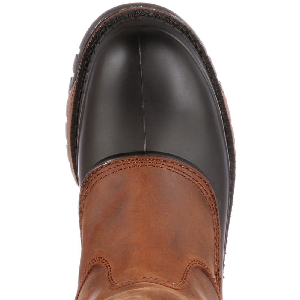 Georgia Men's Muddog WP Wellington Safety Boots - Brown