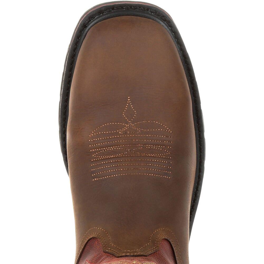 Georgia Men's Carbo-Tec LT WP Work Boots - Brown/Red