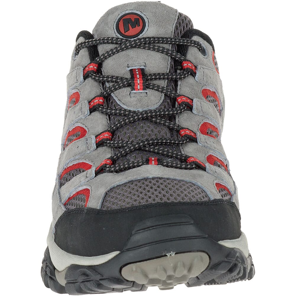 Merrell Men's Moab 2 Ventilator Wide Hiking Shoes - Charcoal Grey