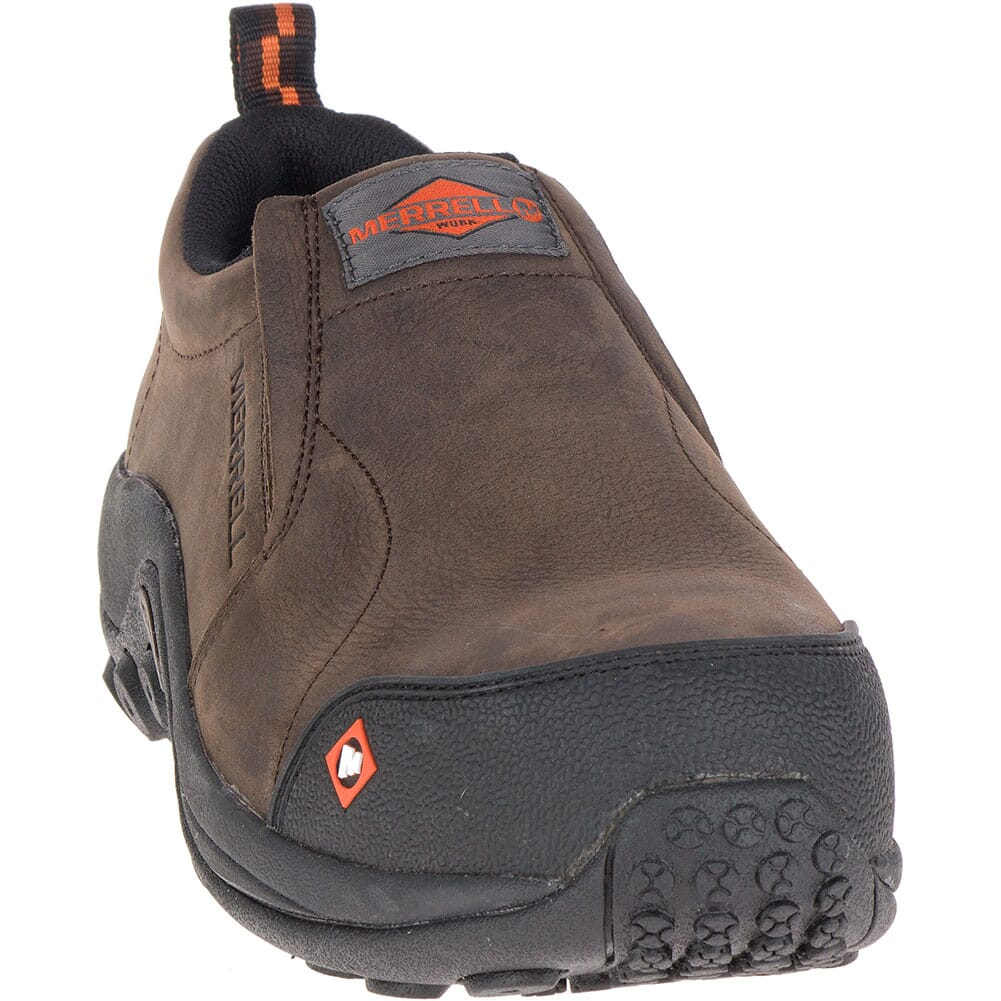 Merrell Men's Jungle Moc Safety Shoes - Espresso