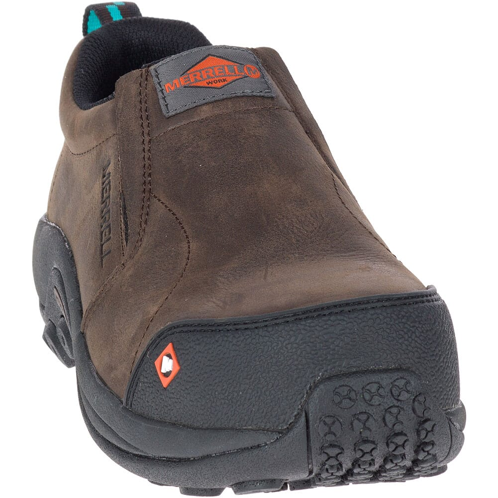 15794 Merrell Women's Jungle Moc Safety Shoes - Espresso