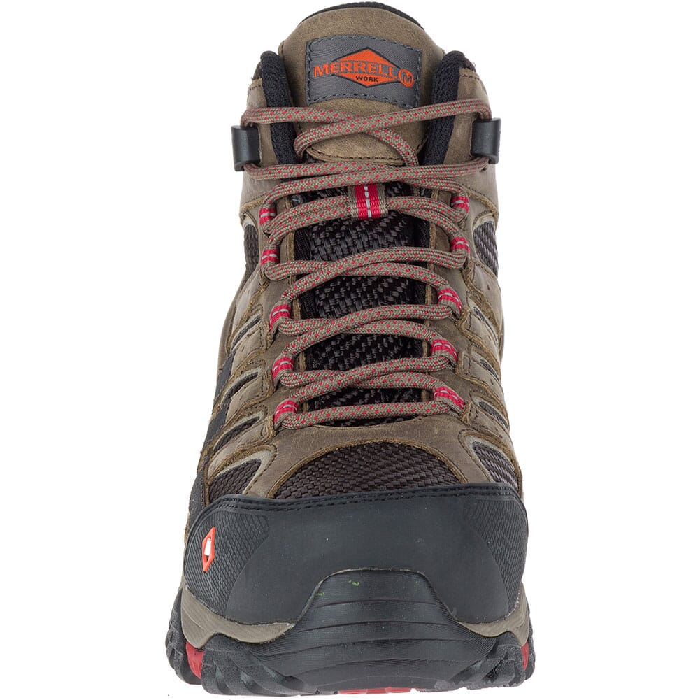 Merrell Women's Moab 2 Vent Mid WP Safety Shoes - Boulder