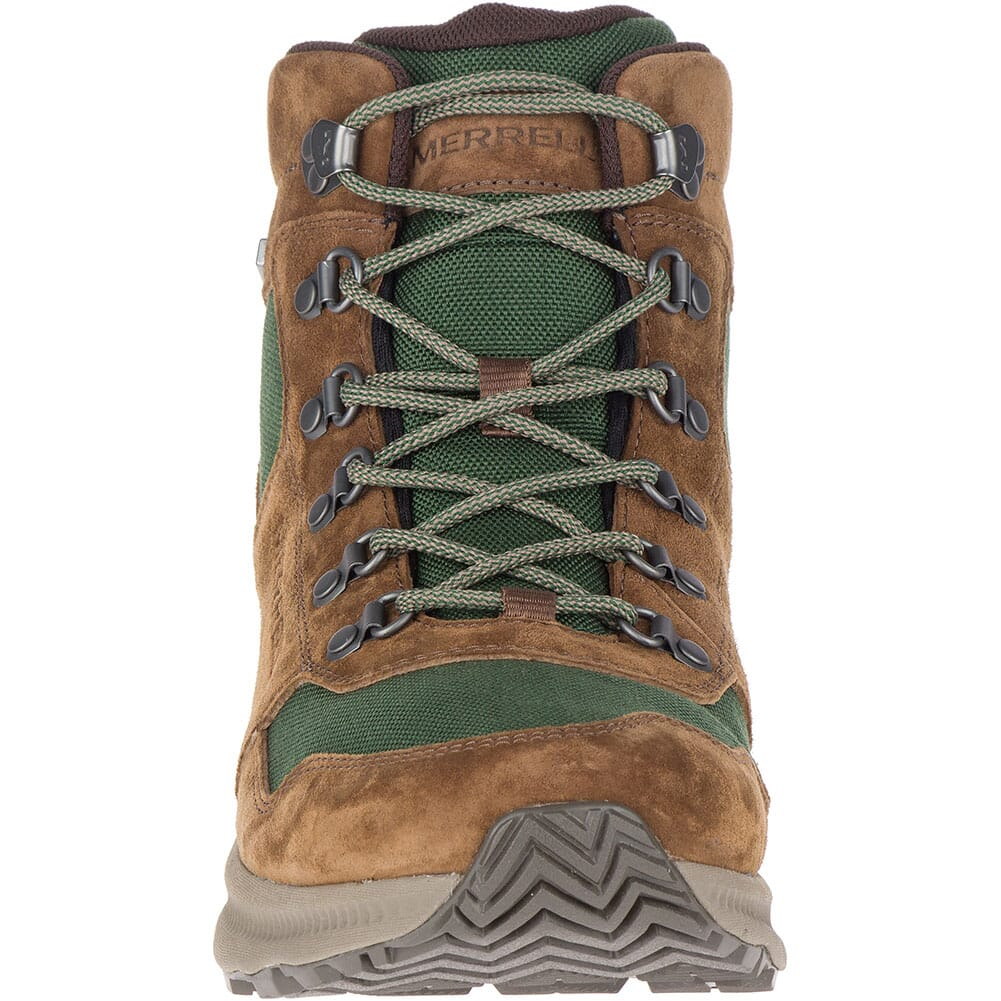 Merrell Men's Ontario 85 Mid WP Hiking Boots - Forest