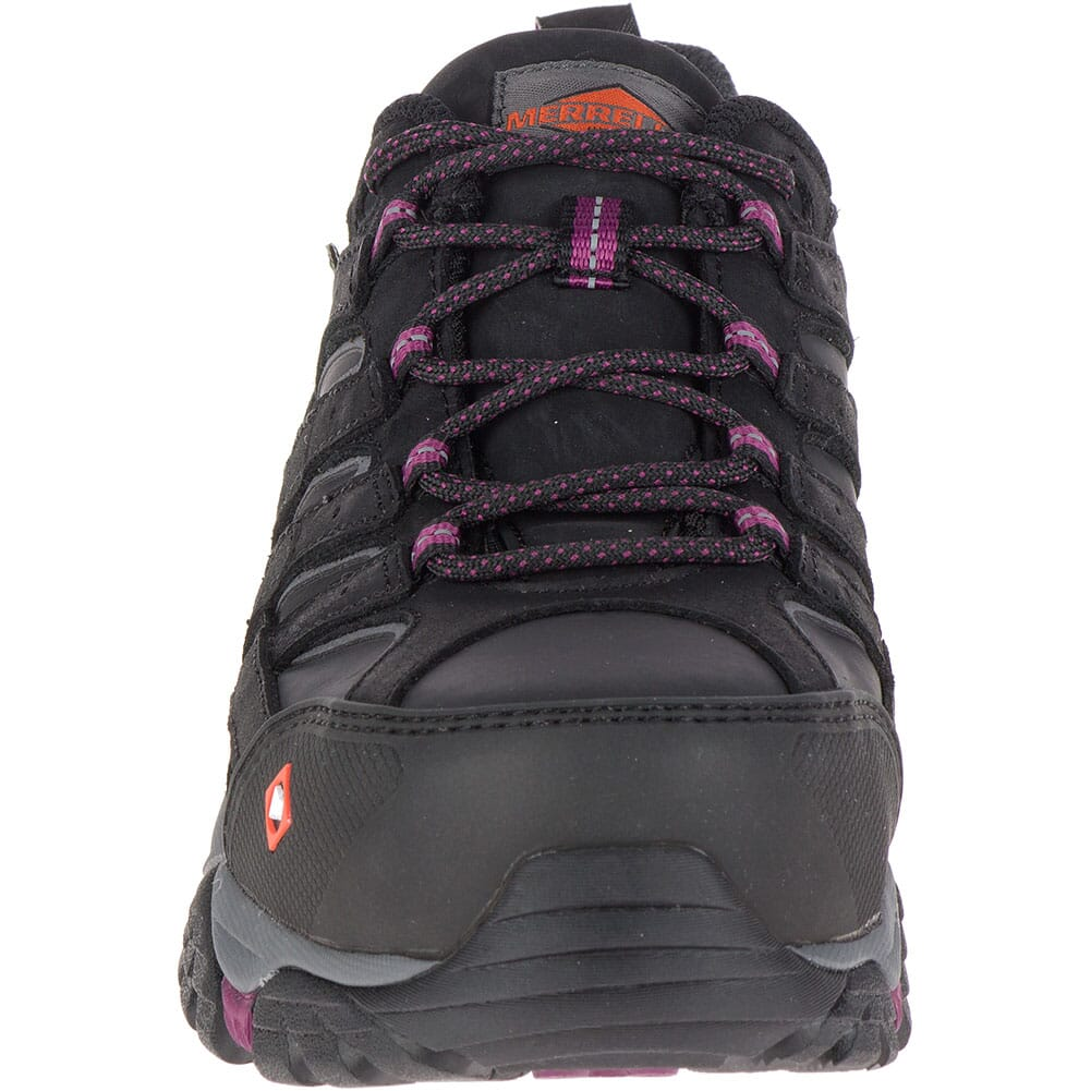 Merrell Women's Moab 2 ESD Safety Shoes - Black