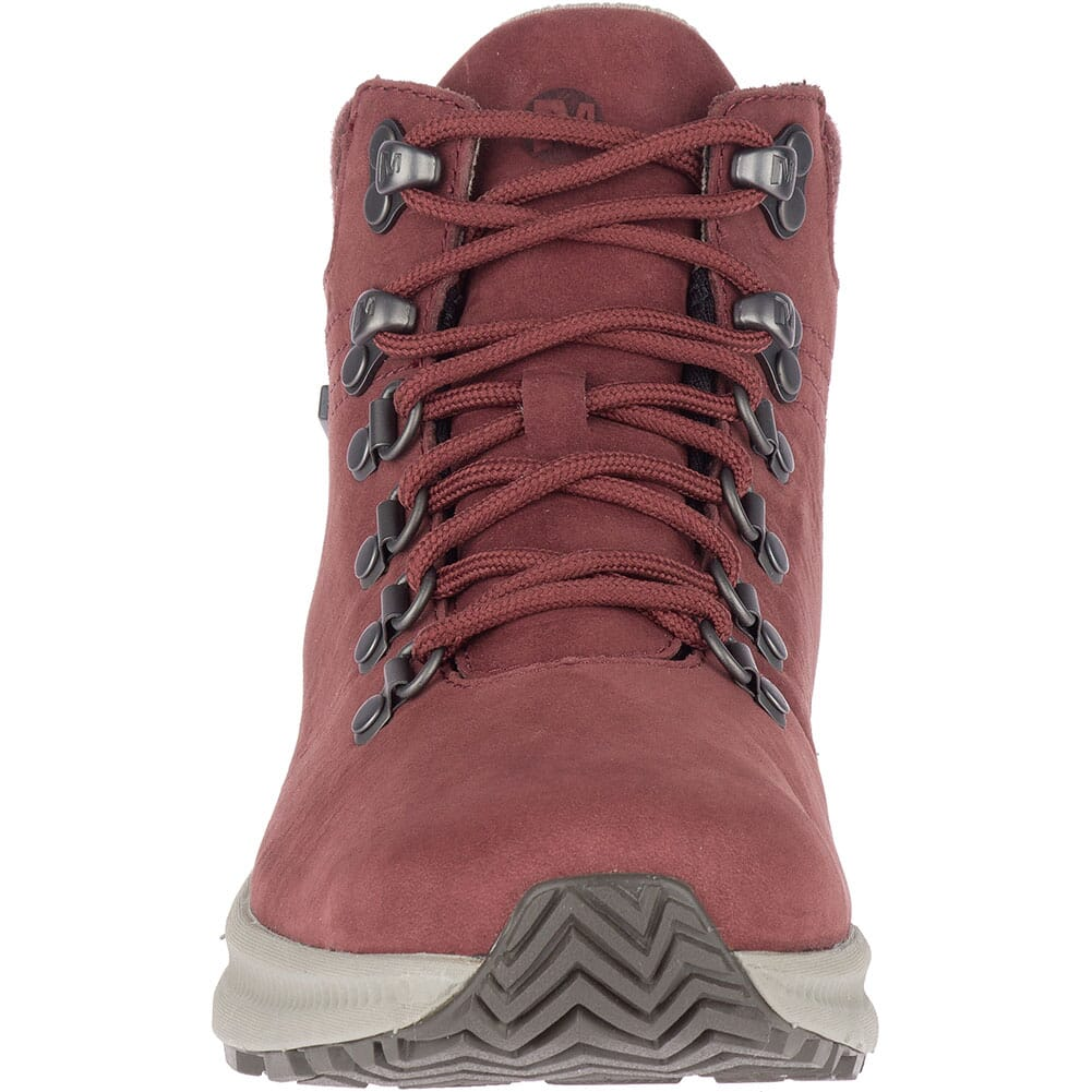 Merrell Women's Ontario Mid WP Hiking Boots - Raisin