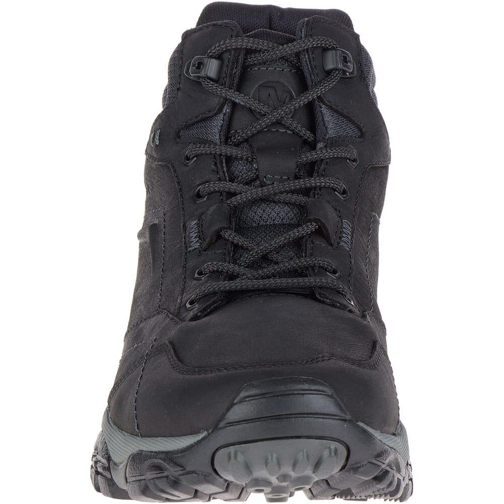 Merrell Men's Moab Adventure Mid WP Hiking Boots - Black