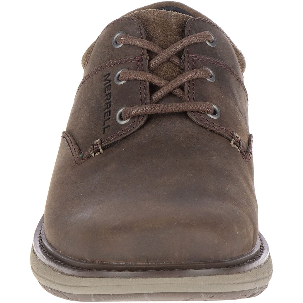 Merrell Men's World Vue Lace Casual Shoes - Slate Black