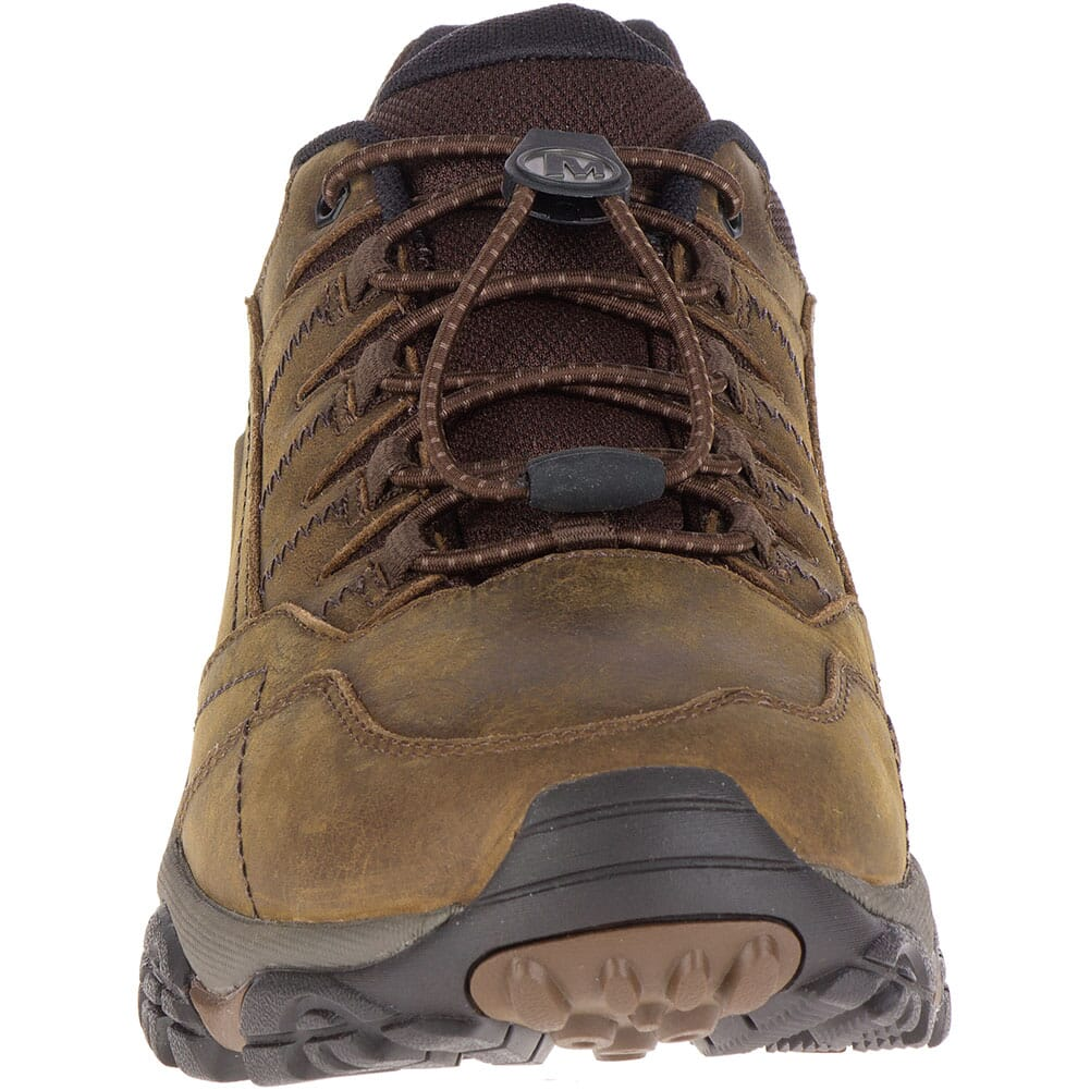 Merrell Men's Moab Adventure Stretch Hiking Shoes - Dark Earth