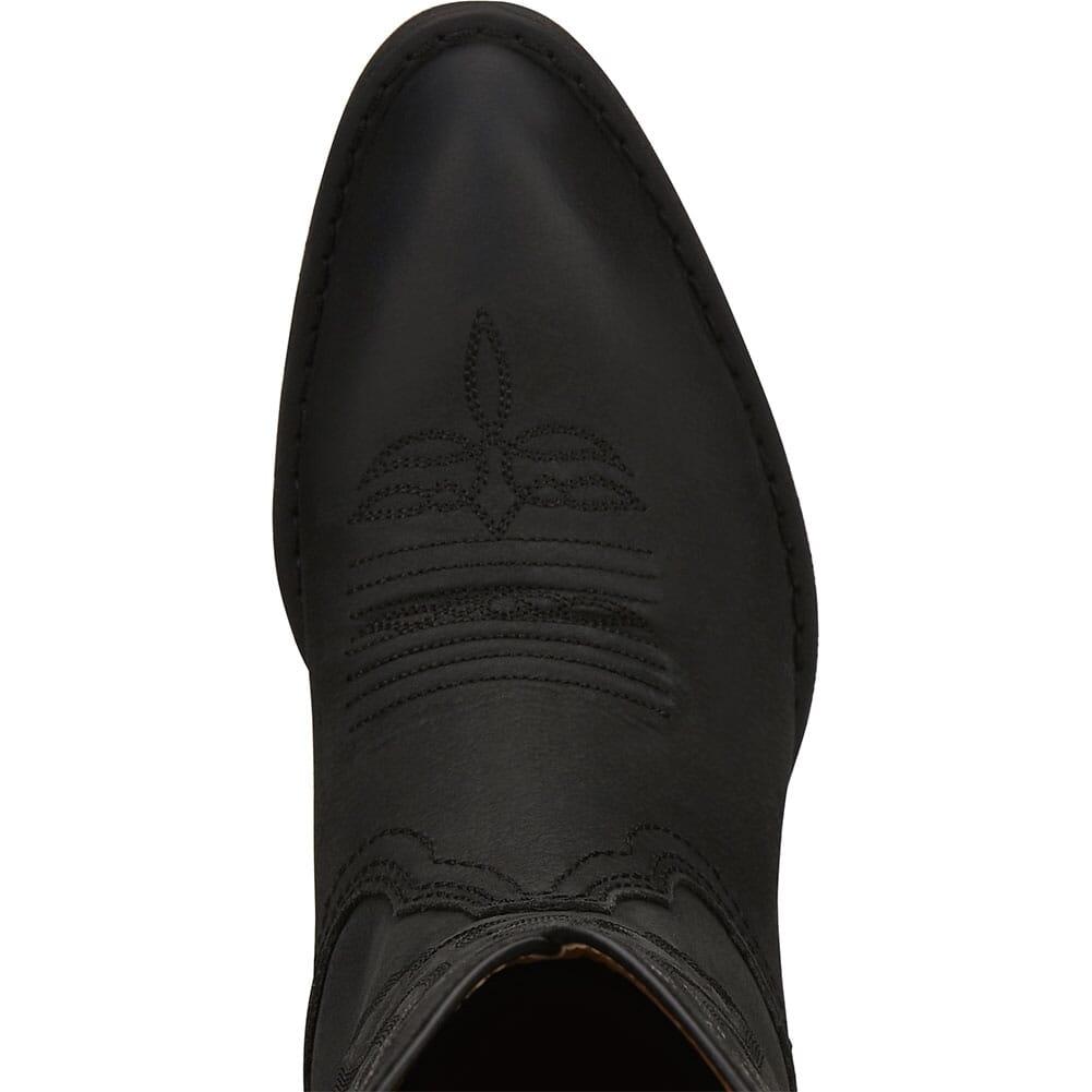 L2961 Justin Women's Roanie Western Boots - Midnight Black
