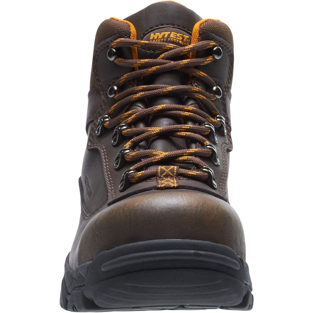 Hytest Unisex Waterproof EH Safety Boots - Brown