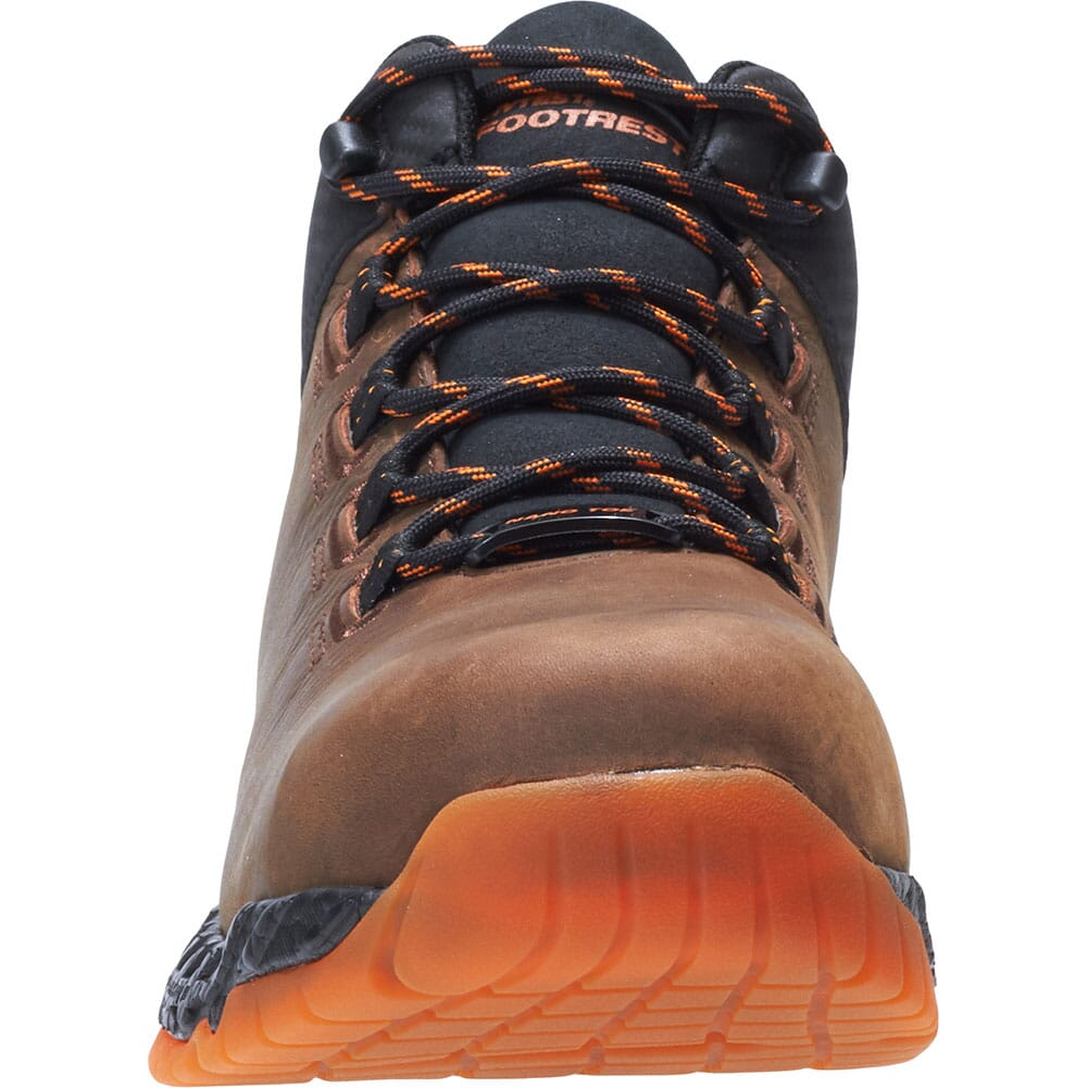 Footrests by Hytest Men's 2.0 Xergy Trainer Safety Shoes - Brown