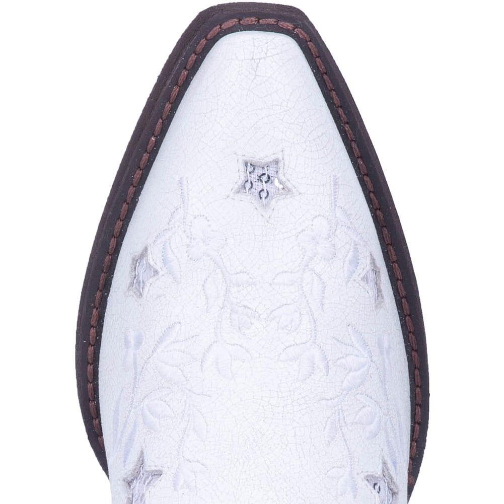 52112 Laredo Women's Lucky Star Western Boots - White