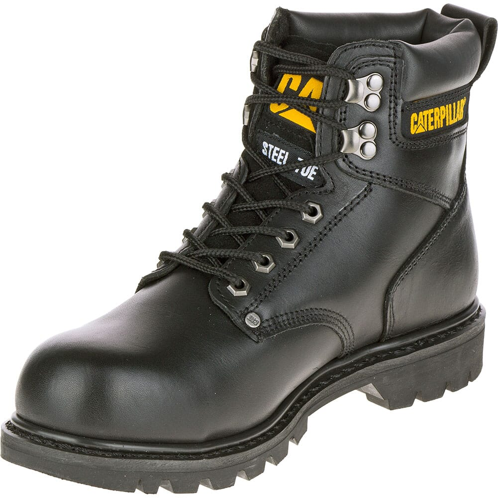 Caterpillar Men's Second Shift Safety Boots - Black