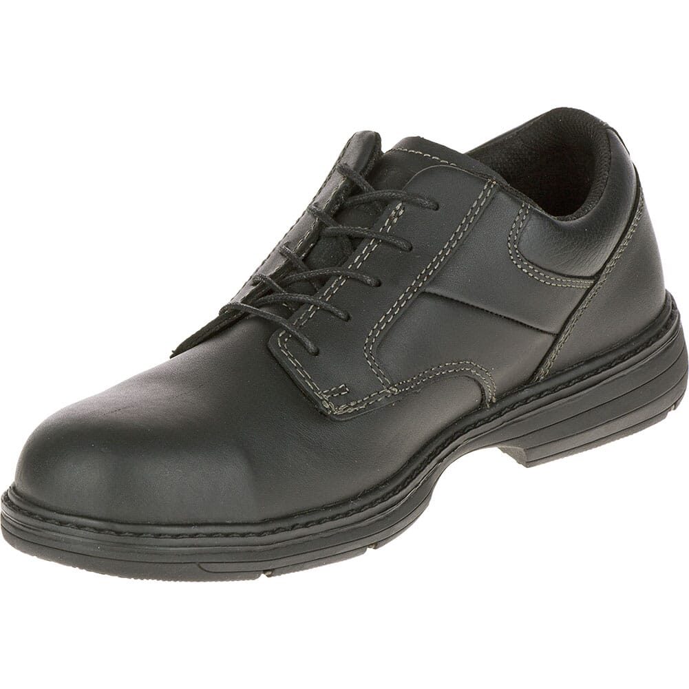 Caterpillar Men's Oversee Safety Shoes - Black