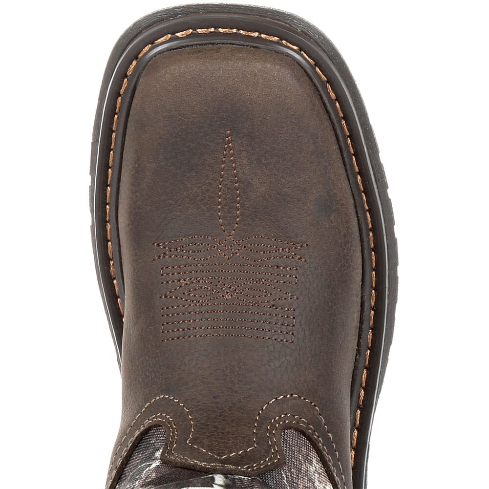 Rocky Big Kid's Ride FLX WP Western Boots - Realtree Camo