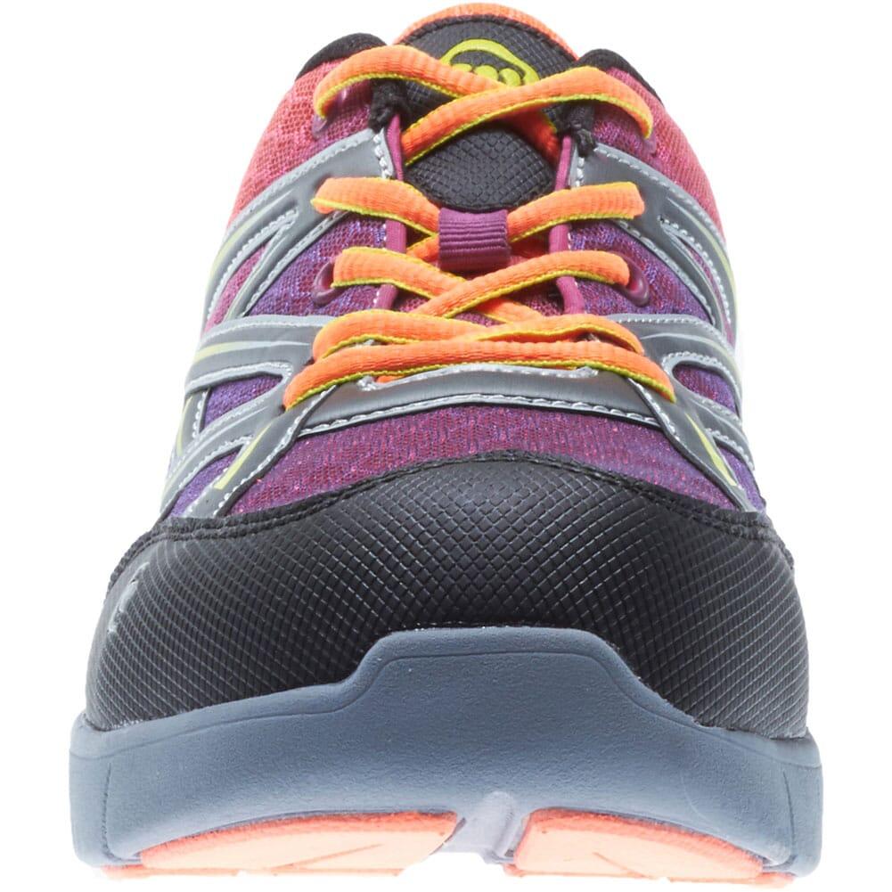 Wolverine Women's Jetstream Safety Shoes - Orange/Purple
