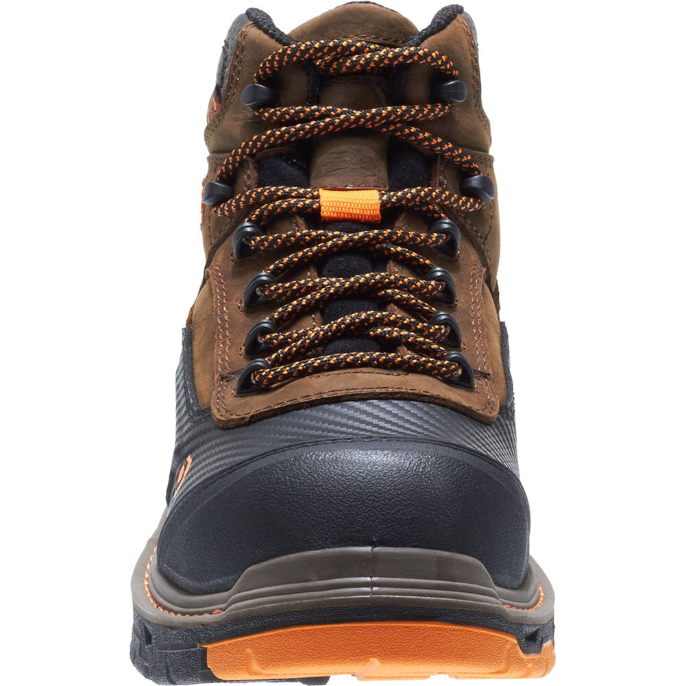 Wolverine Men's Overpass Mid Safety Boots - Summer Brown