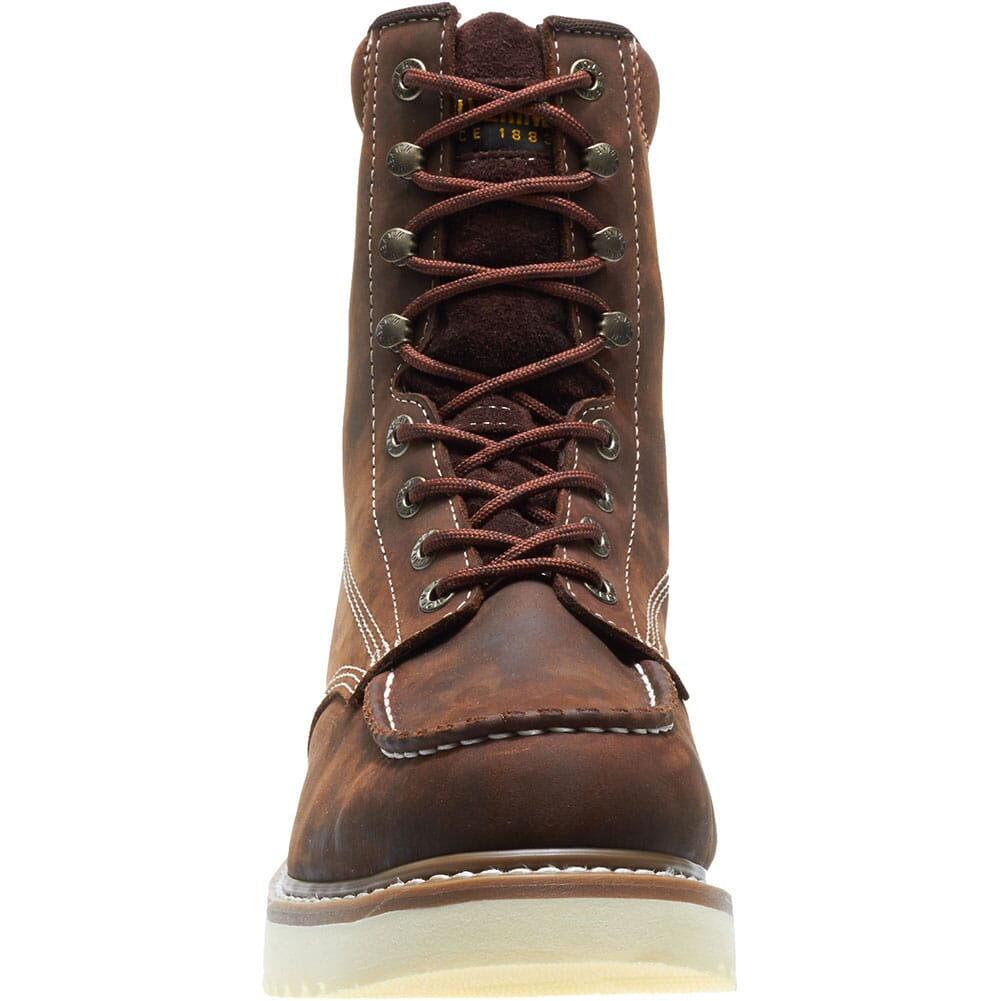 Wolverine Men's Loader Wedge Safety Boots - Brown