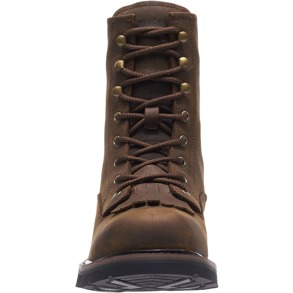 Wolverine Men's Ranchero Lace Up Safety Boots - Brown