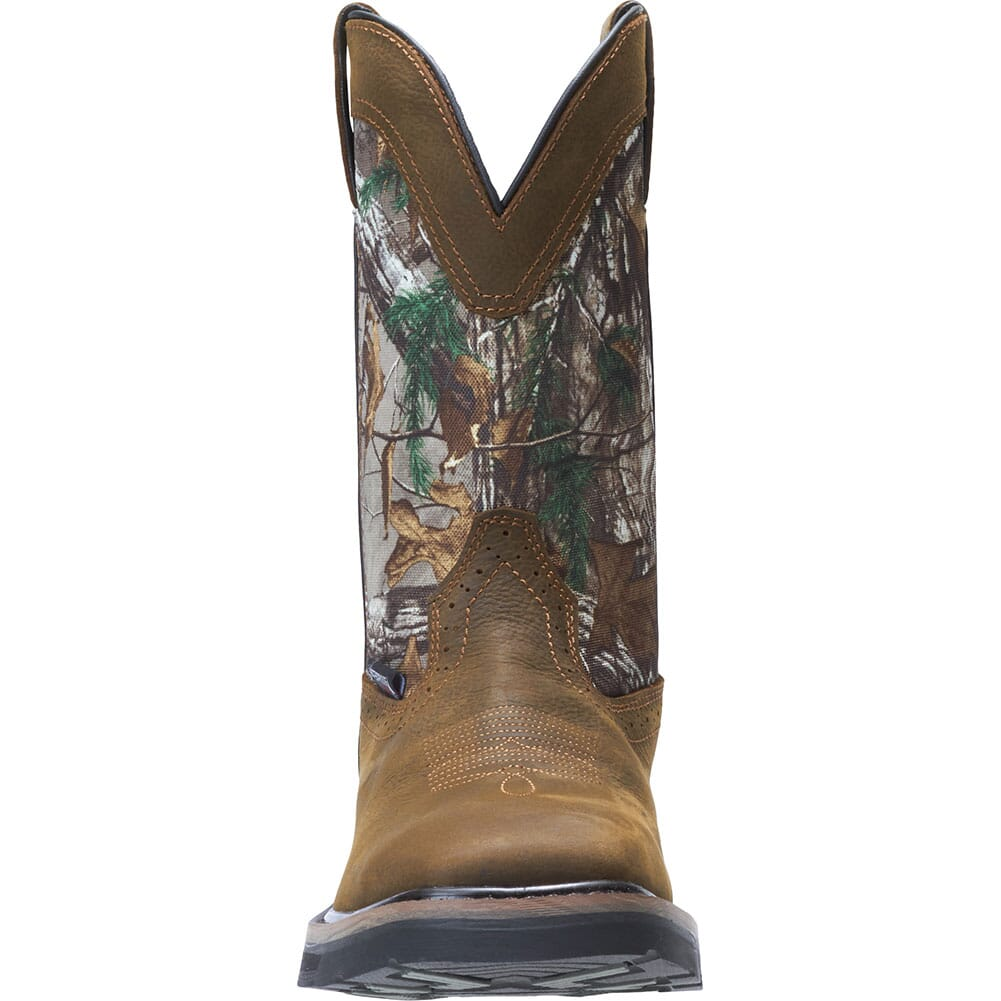 Wolverine Men's Rancher Camo Safety Boots - Brown/Realtree