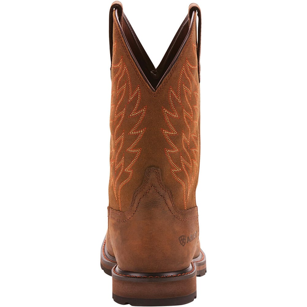 Ariat Men's Groundbreaker H2O Western Boots - Dark Brown