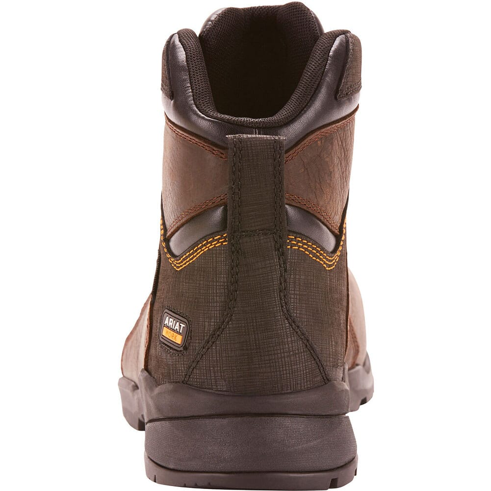 Ariat Men's Rebar Flex Protect WP Safety Boots - Dark Brown