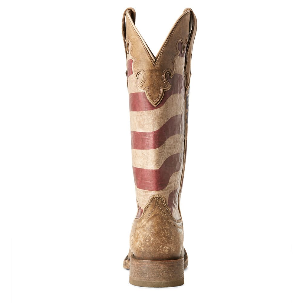 Ariat Women's Ranchero Western Boots - Stars and Stripes/Naturally Brow