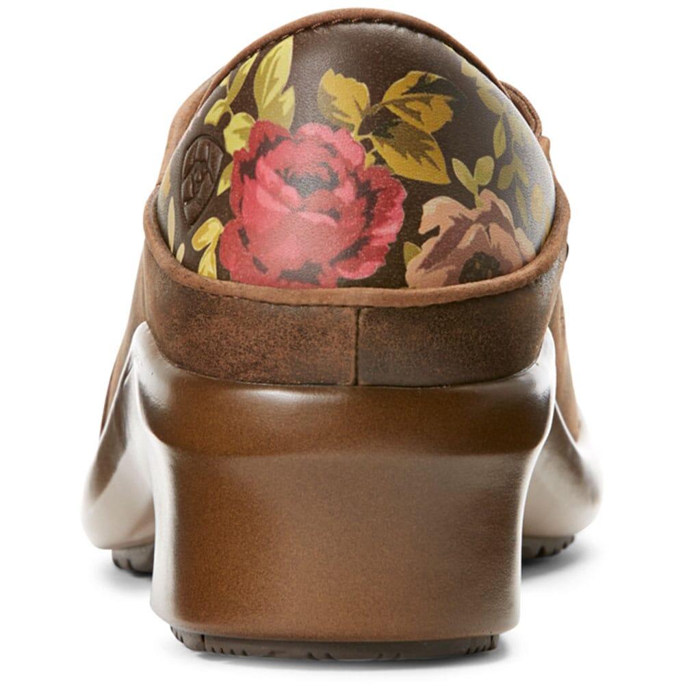 10027294 Ariat Women's Hera Expert Work Clogs - Antique Brown