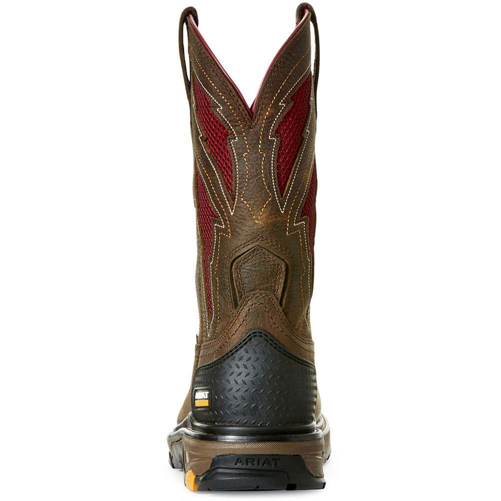 Ariat Men's Intrepid VentTek Lightning Safety Boots - Rye Brown