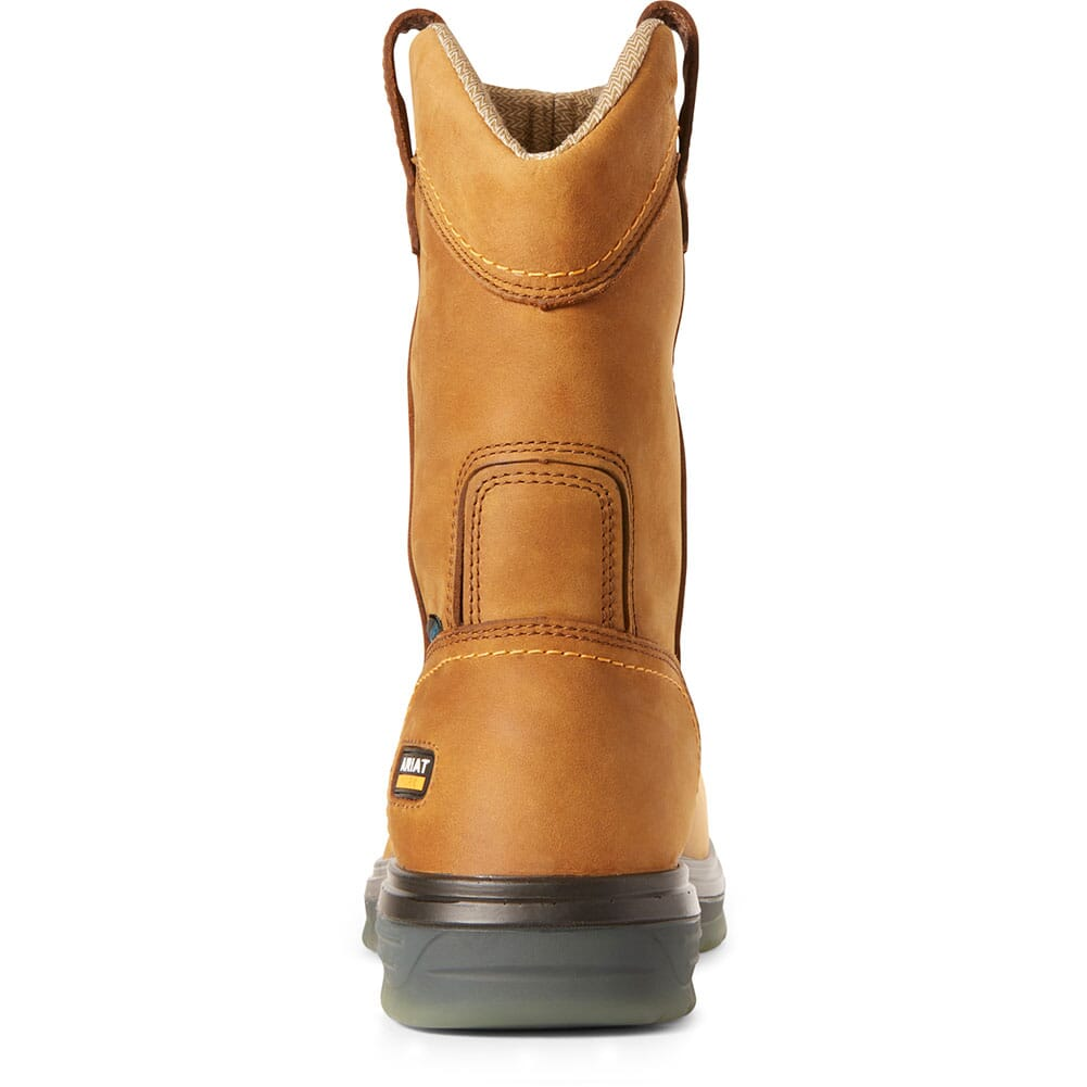 Ariat Men's Turbo Pullon H2O Safety Boots - Aged Bark