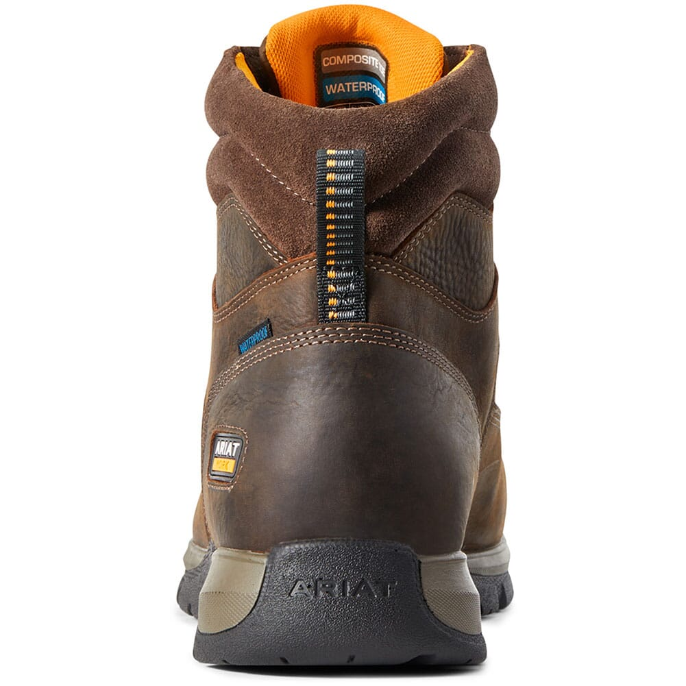 Ariat Women's Telluride WP Safety Boots - Brown