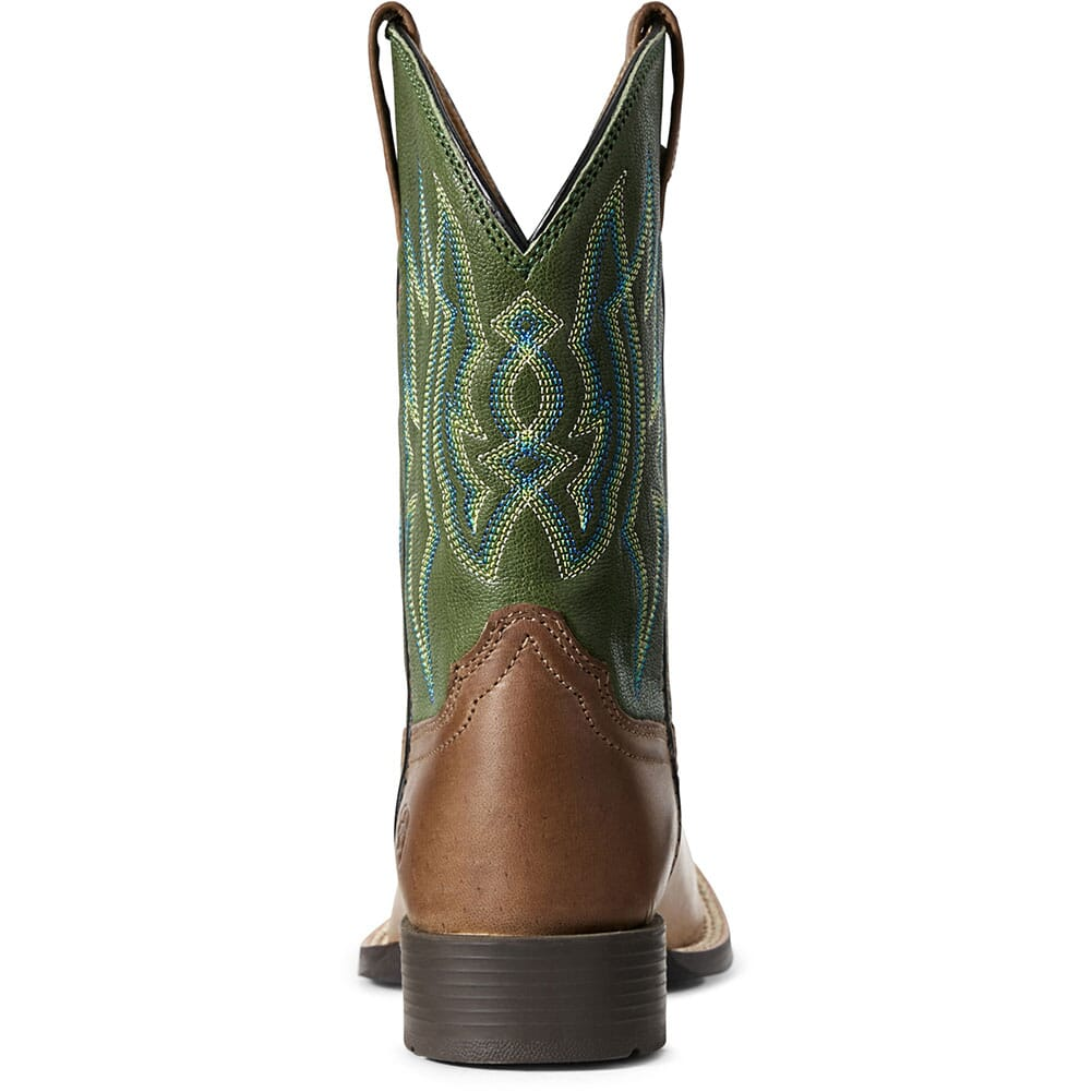 Ariat Men's Relentless Pro Western Boots - Toffee Caiman Belly