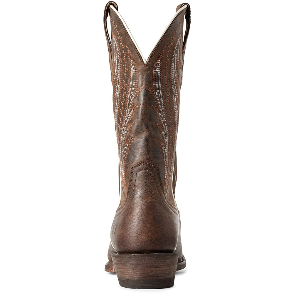 Ariat Men's Amos Western Boots - Sorrel Crunch/Army Green