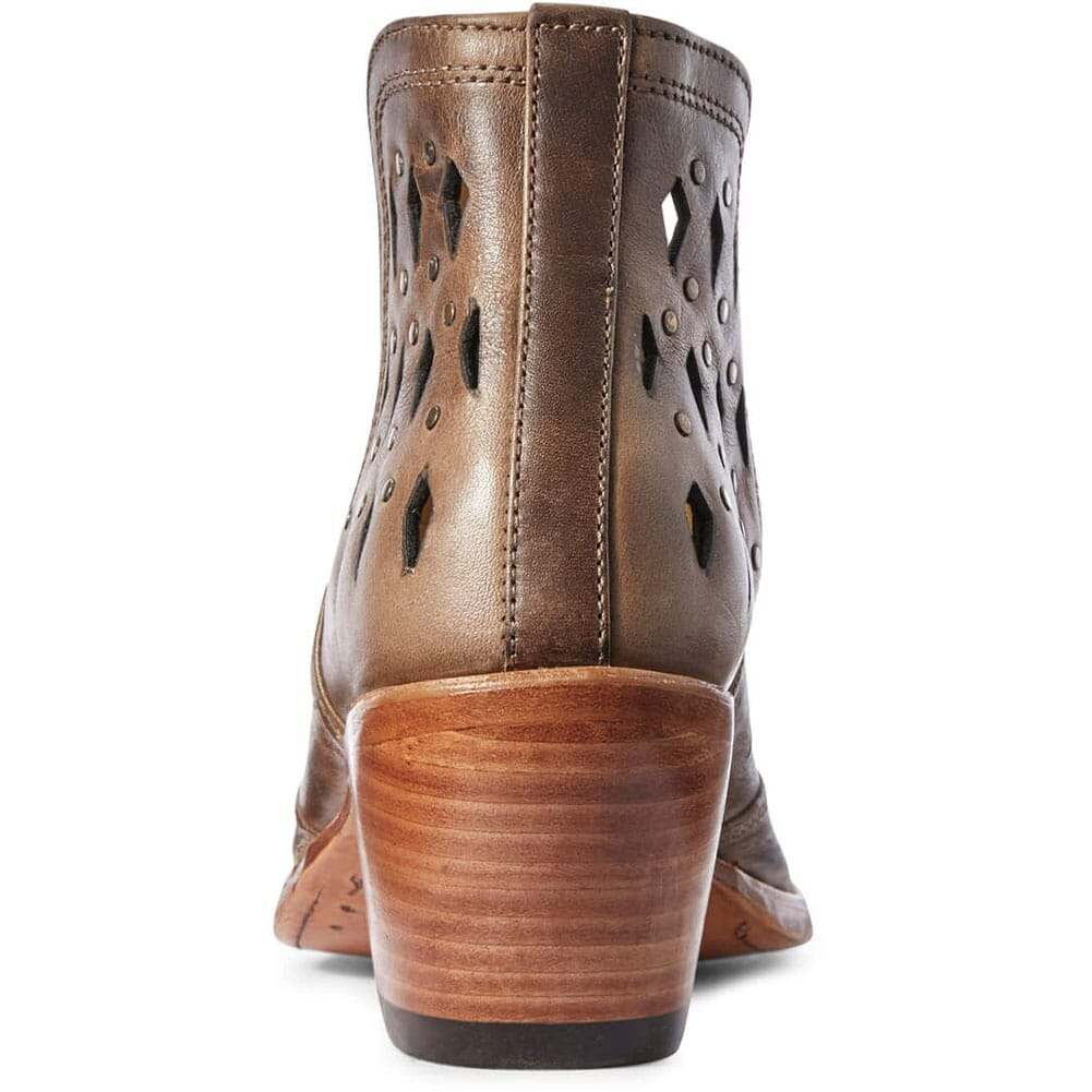 Ariat Women's Dixon Studded Western Boots - Ash Brown