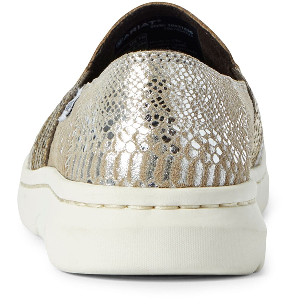 Ariat Women's Ryder Casual Shoes - Silver Snake Print