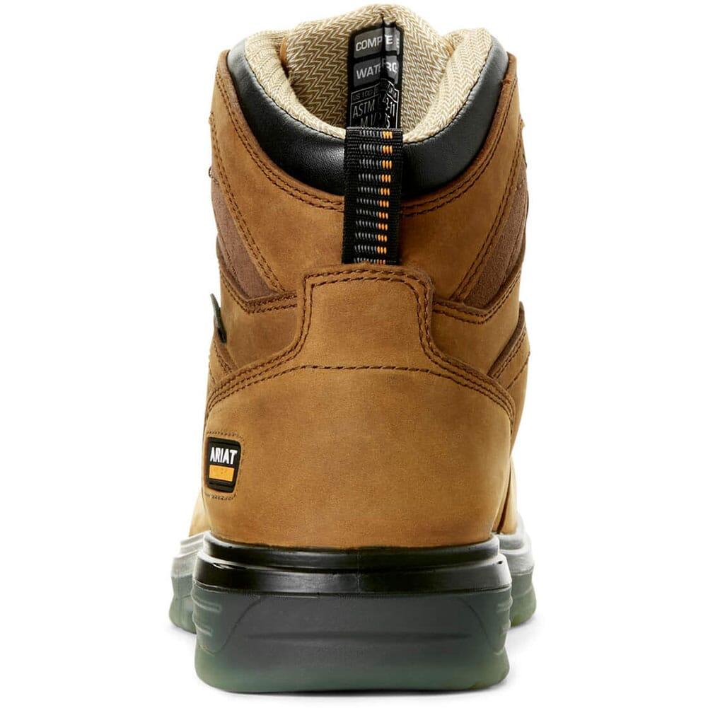10032608 Ariat Men's Turbo Waterproof Work Boots - Aged Bark