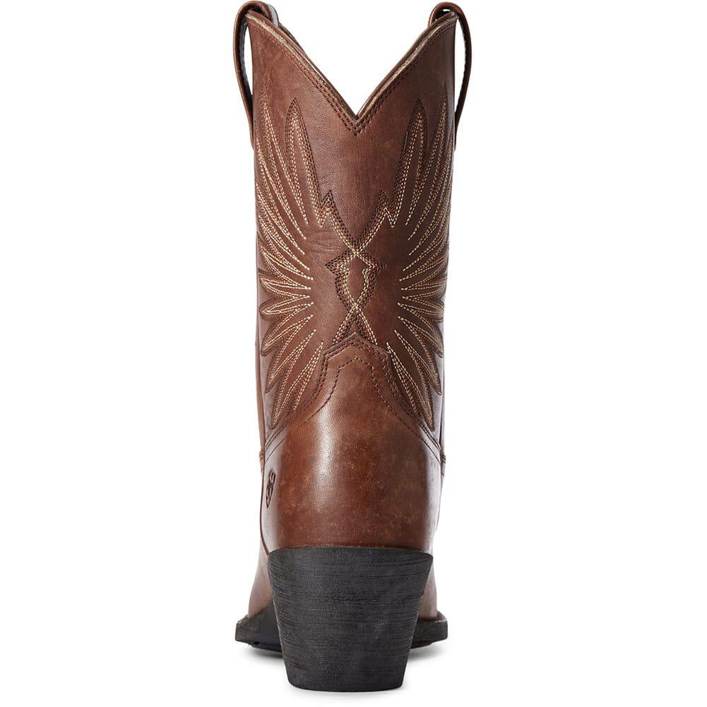 10033886 Ariat Women's Goldie Western Boots - Distressed Cognac