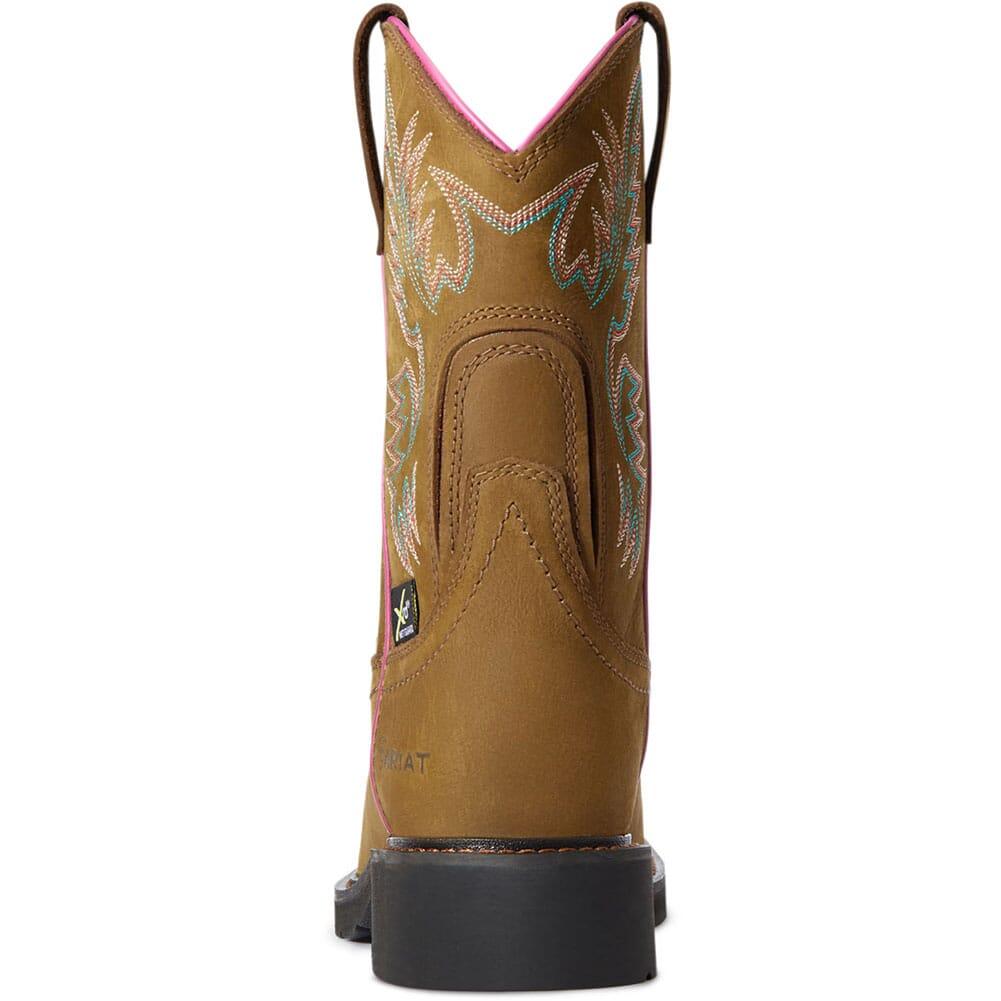 10033994 Ariat Women's Krista MetGuard Safety Boots - Dark Brown
