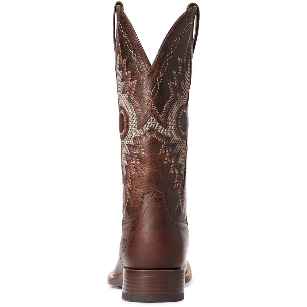 10034038 Ariat Men's Solado VentTEK Western Boots - Dark Whiskey