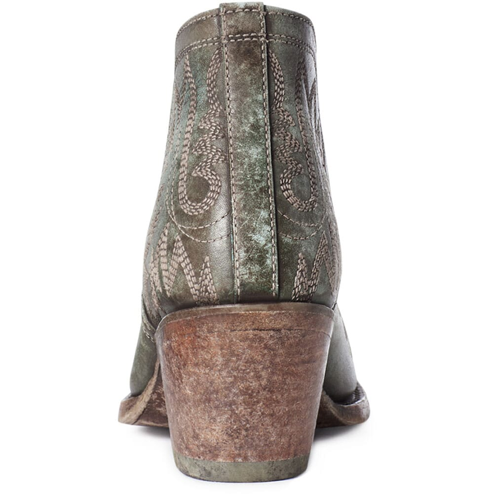 10035808 Ariat Women's Dixon Western Boots - Distressed Turquoise